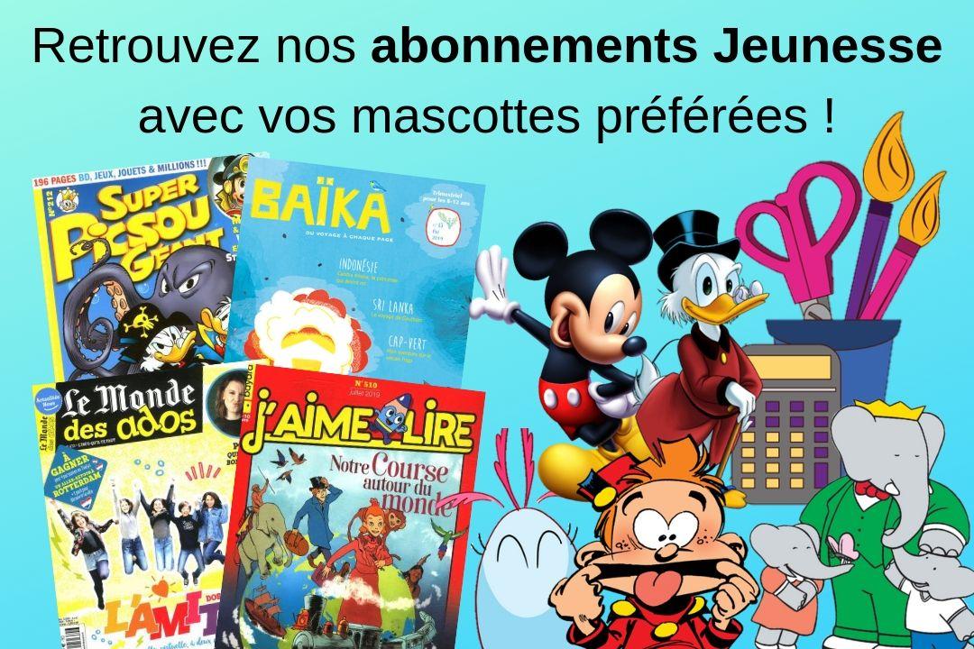 Jeunesse Magazines Uni Presse Abonnement MGLUVSzpq