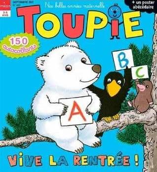 abonnement Toupie Maxi Jeux jeunesse
