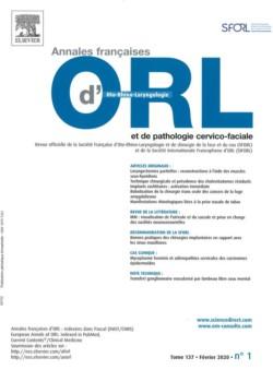 Magazine Oto-rhino-laryngologie - Chirurgie