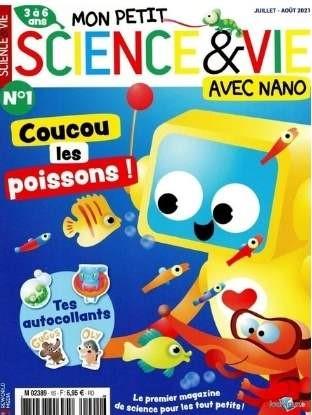 Mon Petit Science et Vie avec Nano abonnement enfants