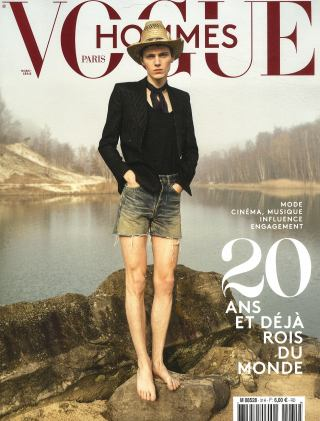 Abonnement Vogue hommes International